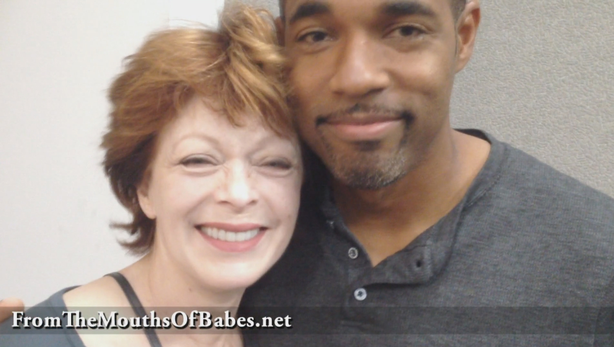 Frances Fisher with Jason George Love